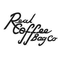 real coffee bag